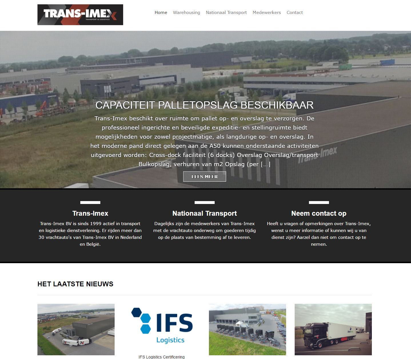 Website: Trans-Imex.nl